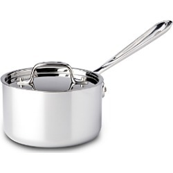 All Clad Stainless Steel 1.5 Quart Sauce Pan with Lid found on Bargain Bro India from Bloomingdale's Australia for $163.61