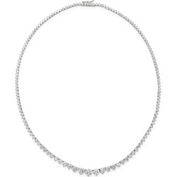 Bloomingdale's Diamond Graduated Tennis Necklace in 14K White Gold, 15.0 ct. t.w. - 100% Exclusive found on Bargain Bro UK from Bloomingdales UK
