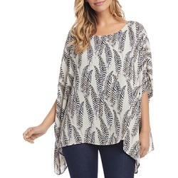 Karen Kane Feather Print Top found on Bargain Bro Philippines from bloomingdales.com for $68.60