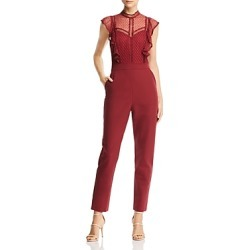 Adelyn Rae Point D'esprit Jumpsuit found on MODAPINS from Bloomingdales UK for USD $139.98