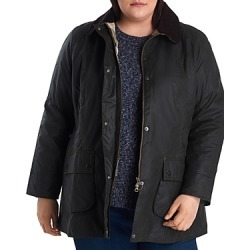 Barbour Plus Beadnell Waxed Cotton Corduroy-Collar Coat found on MODAPINS from bloomingdales.com for USD $315.00