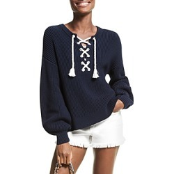 Michael Michael Kors Rope Laced Blouson Sleeve Sweater found on Bargain Bro India from Bloomingdales Canada for $235.41