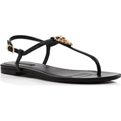 Dolce & Gabbana Women's Embellished Thong Sandals found on Bargain Bro India from Bloomingdale's Australia for $820.29