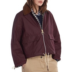 Barbour by Alexachung Margot Waxed Cotton Jacket found on MODAPINS from bloomingdales.com for USD $260.40