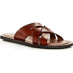 The Men's Store at Bloomingdale's Men's Woven Leather Slide Sandals - 100% Exclusive found on Bargain Bro India from bloomingdales.com for $67.50