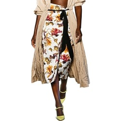Jason Wu Floral Print Pencil Skirt found on MODAPINS from bloomingdales.com for USD $388.50