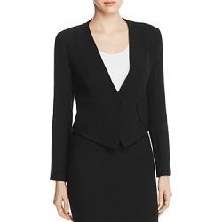 Armani Collezioni Pointed-Hem Wool Jacket found on MODAPINS from bloomingdales.com for USD $717.00