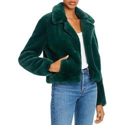Blanknyc Cropped Faux-Fur Jacket