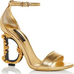 Dolce & Gabbana Women's D & G Sculpted High Heel Sandals found on Bargain Bro UK from Bloomingdales UK