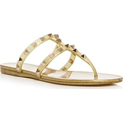 Valentino Garavani Women's Studded Thong Sandals found on Bargain Bro India from bloomingdales.com for $495.00