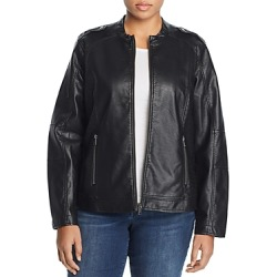 Junarose Plus Damas Faux-Leather Biker Jacket found on Bargain Bro Philippines from Bloomingdale's Australia for $136.75