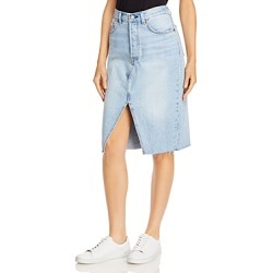 Levi's Frayed Hem Denim Skirt found on MODAPINS from bloomingdales.com for USD $50.35