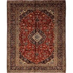 Bloomingdale's Kashan-08 Area Rug, 7'4 x 11'3 - 100% Exclusive found on Bargain Bro Philippines from Bloomingdale's Australia for $3379.47