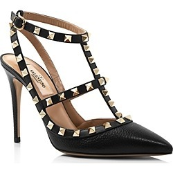 Valentino Garavani Women's Rockstud Leather T-Strap High-Heel Pumps found on Bargain Bro India from Bloomingdale's Australia for $1137.83