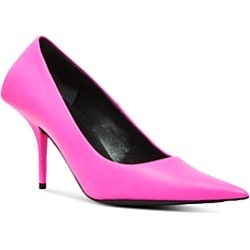 Balenciaga Women's Square Knife Leather Pumps found on Bargain Bro India from Bloomingdale's Australia for $841.46