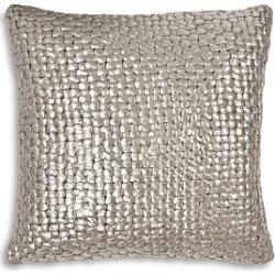 Michael Aram Metallic Basketweave Decorative Pillow, 18 x 18 found on Bargain Bro UK from Bloomingdales UK