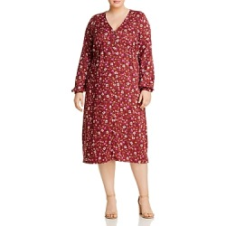 Junarose Plus Mauda Floral Button-Front Dress found on MODAPINS from bloomingdales.com for USD $69.00