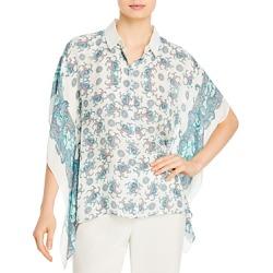 Kobi Halperin Sadie Handkerchief Hem Blouse found on MODAPINS from Bloomingdales UK for USD $251.20