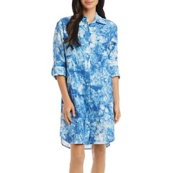 Karen Kane Linen Tie-Dyed Shirtdress found on Bargain Bro Philippines from bloomingdales.com for $117.60