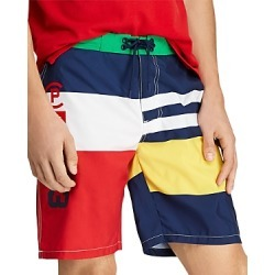 Polo Ralph Lauren Cp-93 Striped Swim Trunks
