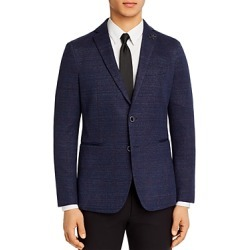 John Varvatos Star Usa Varick Jersey Windowpane Slim Fit Sport Coat