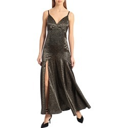 Avec Les Filles Metallic Maxi Dress found on Bargain Bro from Bloomingdales Canada for USD $103.28