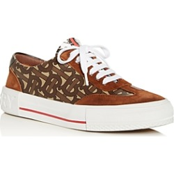 Burberry Women's Nelson Monogram Low-Top Sneakers found on Bargain Bro India from bloomingdales.com for $490.00