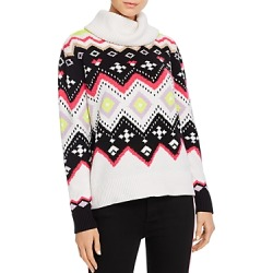 Alice + Olivia Emett Fair Isle Turtleneck Sweater found on Bargain Bro UK from Bloomingdales UK