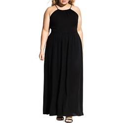 City Chic Plus Devotion Sleeveless Maxi Dress found on Bargain Bro Philippines from Bloomingdales Canada for $167.51
