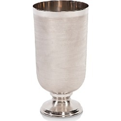 Howard Elliott Textured Silver Metal Large Chalice Vase found on Bargain Bro Philippines from Bloomingdale's Australia for $93.14