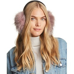 Surell Fox Fur Ear Muffs - 100% Exclusive found on Bargain Bro Philippines from Bloomingdales Canada for $127.64