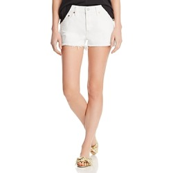 Levi's 501 Cutoff Denim Shorts in Pearly White found on MODAPINS from bloomingdales.com for USD $69.50