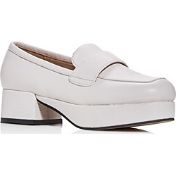 Jeffrey Campbell Women's Student Square-Toe Platform Loafers found on MODAPINS from bloomingdales.com for USD $145.00