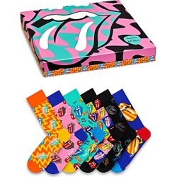 Happy Socks Rolling Stones Socks Gift Set - Box of 6 found on MODAPINS from bloomingdales.com for USD $96.00