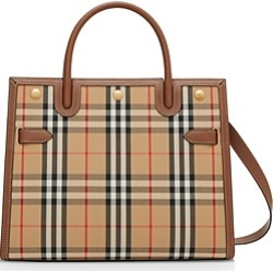 Burberry Small Vintage Check Two Handle Title Bag found on Bargain Bro Philippines from bloomingdales.com for $1990.00