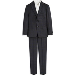 Michael Kors Boys' Two-Piece Plaid Suit - Big Kid found on Bargain Bro Philippines from Bloomingdale's Australia for $79.89