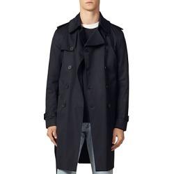 Sandro Magnetic Trench Coat