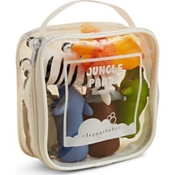 Elegant Baby Jungle Party Squirties Bath Toys - Ages 6 Months+