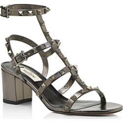 Valentino Garavani Women's Rockstud Strappy Block-Heel Sandals found on Bargain Bro India from bloomingdales.com for $1075.00