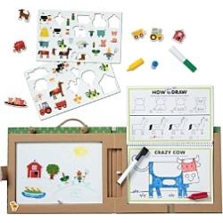 Melissa & Doug Play Draw Create Farm