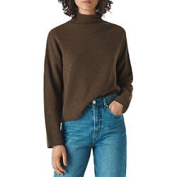 Whistles Roll Neck Merino-Wool Sweater found on Bargain Bro UK from Bloomingdales UK