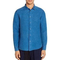 Barena Linen Regular Fit Shirt found on MODAPINS from Bloomingdales UK for USD $191.39