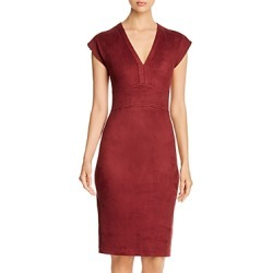 Level 99 Ivan Faux-Suede V-Neck Sheath Dress found on Bargain Bro India from Bloomingdale's Australia for $118.64