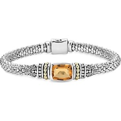 Lagos 18K Gold and Sterling Silver Caviar Color Bracelet with Citrine found on Bargain Bro India from Bloomingdales Canada for $786.68