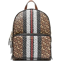Burberry Monogram Stripe Print E-Canvas Backpack found on Bargain Bro Philippines from bloomingdales.com for $1390.00