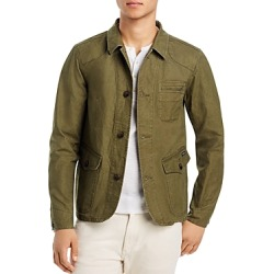 Scotch & Soda Washed Canvas Regular Fit Jacket found on Bargain Bro India from Bloomingdales Canada for $196.40