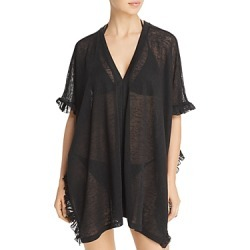 Echo Ruffle Knit Poncho Swim Cover-Up found on Bargain Bro Philippines from Bloomingdales Canada for $83.23