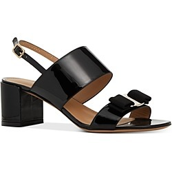 Salvatore Ferragamo Women's Giulia Block Heel Sandals found on Bargain Bro India from bloomingdales.com for $695.00