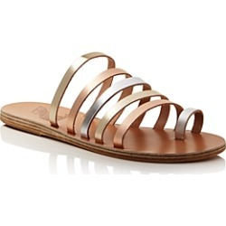 Ancient Greek Sandals Women's Niki Metallic Leather Sandals found on MODAPINS from bloomingdales.com for USD $230.00