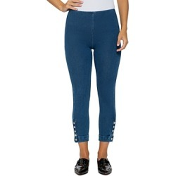 Lysse Snap-Cuff Cropped Denim Leggings found on Bargain Bro India from bloomingdales.com for $88.00